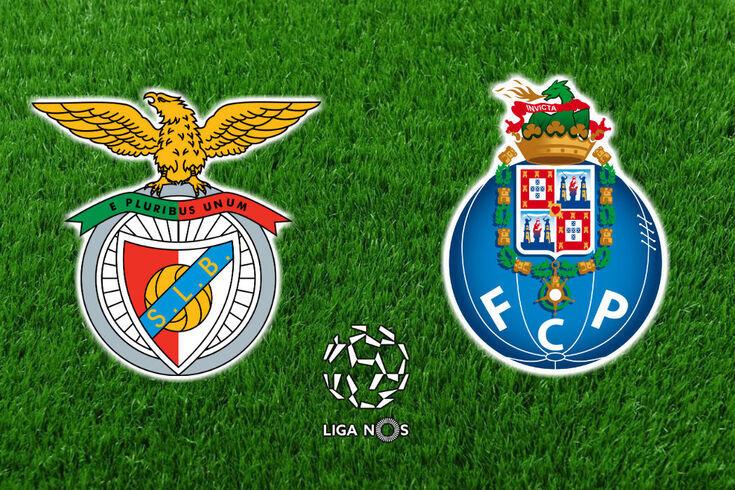 DIRETO | Benfica-FC Porto