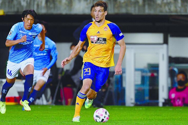 Alexandre Guedes, de 26 anos, já mrcou cinco golos pelos japoneses do Vegalta