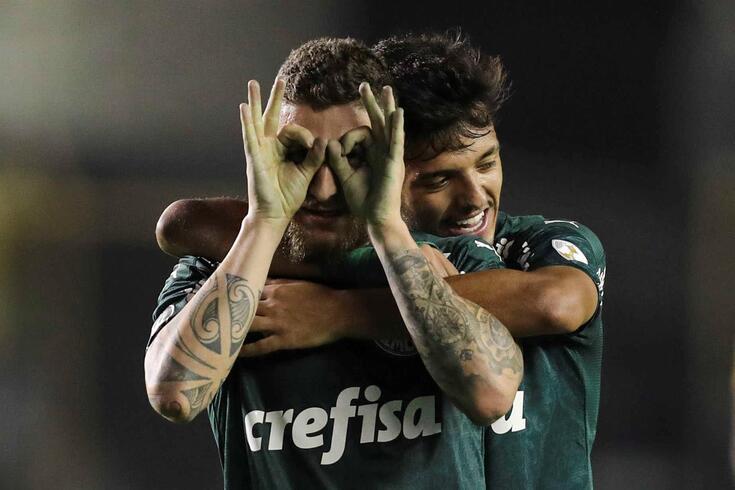 Palmeiras derrotou o Delfin Manta