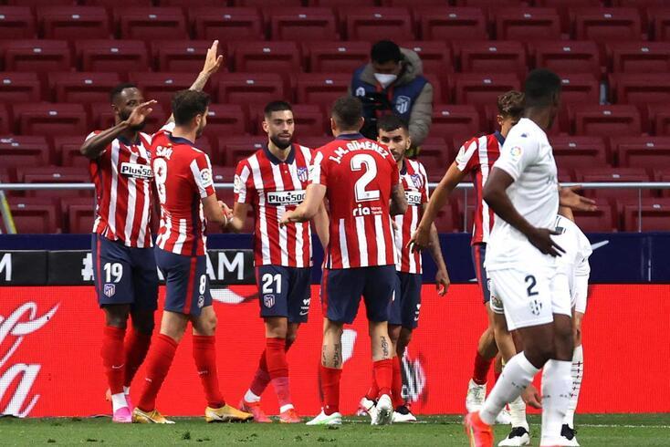 Atlético de Madrid recebeu e venceu Huesca