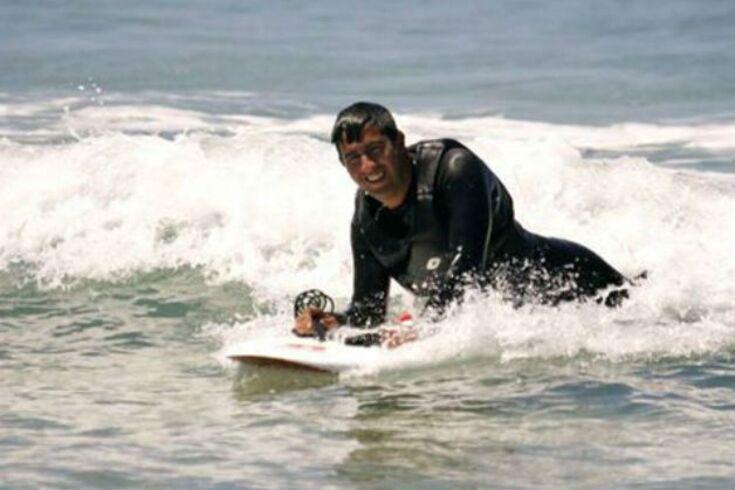 Reprodução/Associação Portuguesa de Surf Adaptado