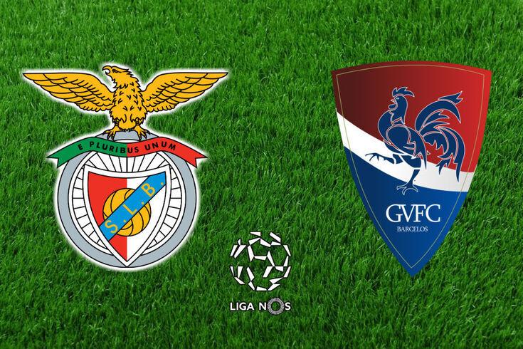 DIRETO | Benfica-Gil Vicente