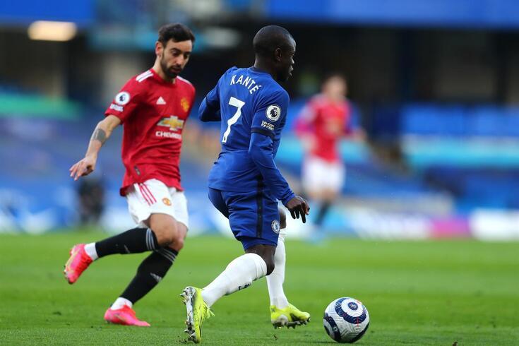 Chelsea e Manchester United empataram