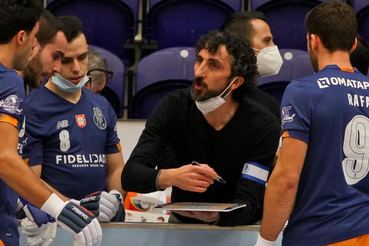 Guillem Cabestany, vai na sexta temporada como treinador do FC Porto