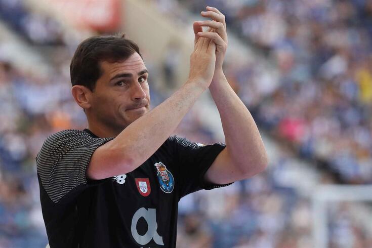 Iker Casillas, guarda-redes que representou o Real Madrid e o FC Porto