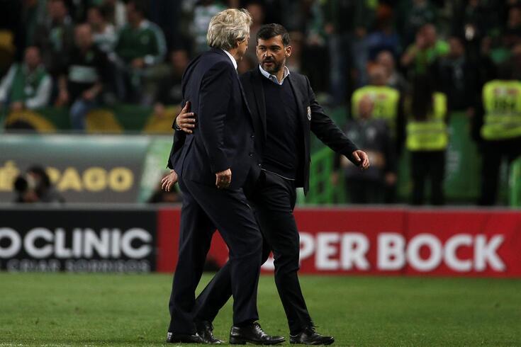 Jorge Jesus e Conceição em novo duelo no campeonato