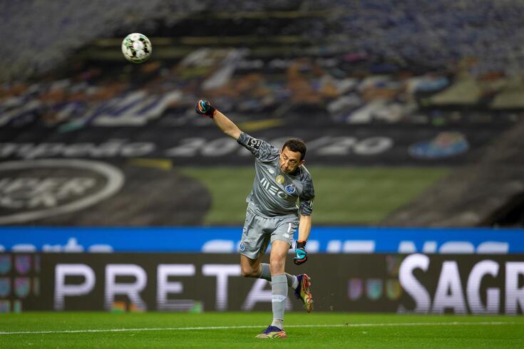 Marchesín, habitual titular na baliza do FC Porto