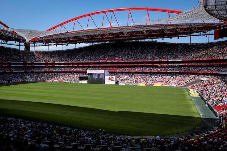 """Estádio da Luz, """"casa"""" do Benfica"""
