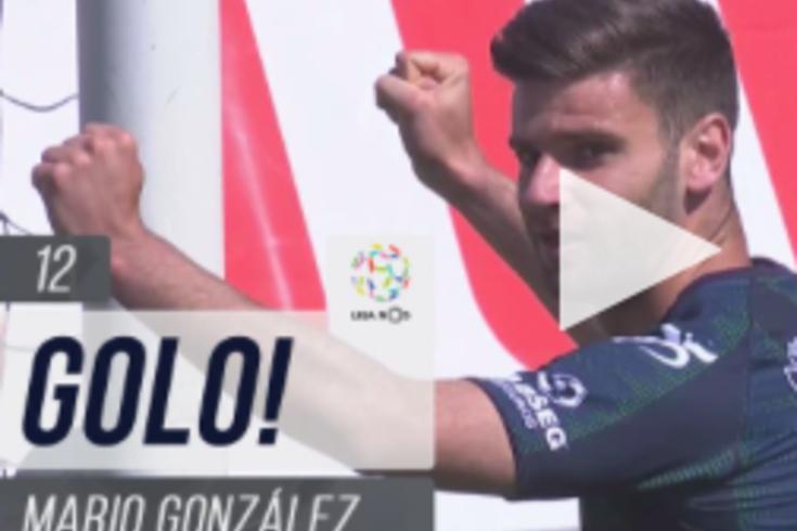 Imparável: o hat-trick de Mario González em 12 minutos no Moreirense-Tondela