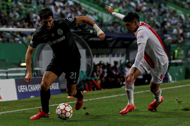 Paulinho, avançado do Sporting