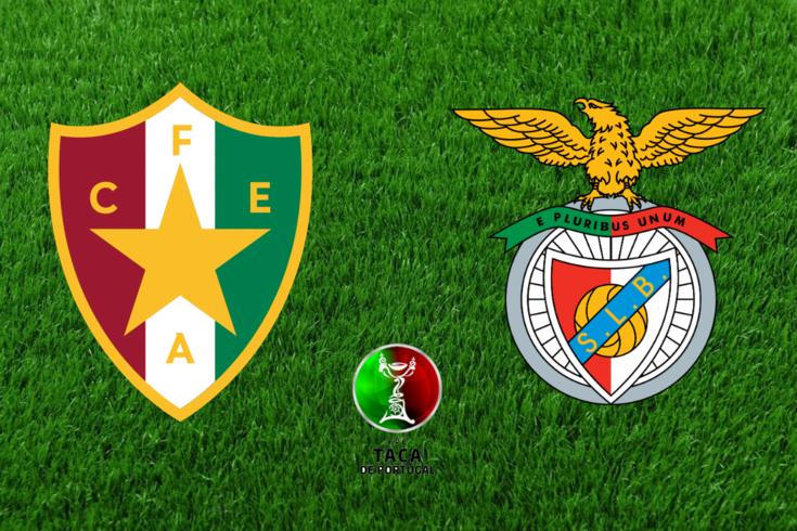 DIRETO | Estrela da Amadora-Benfica