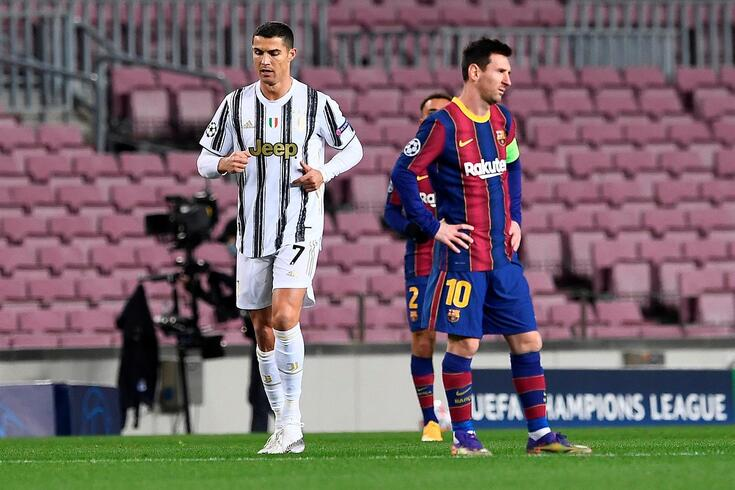 Cristiano Ronaldo e Lionel Messi