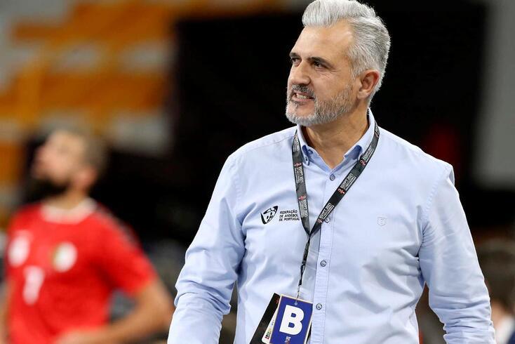 Paulo Jorge Pereira, selecionador de Portugal