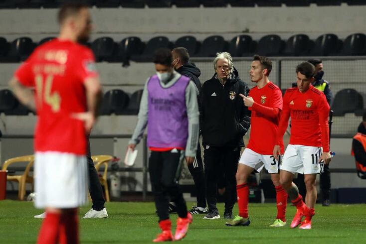 Benfica volta a visar questão das grandes penalidades na I Liga