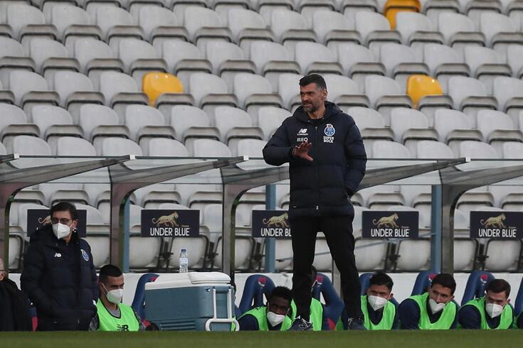 Sérgio Conceição, técnico do FC Porto
