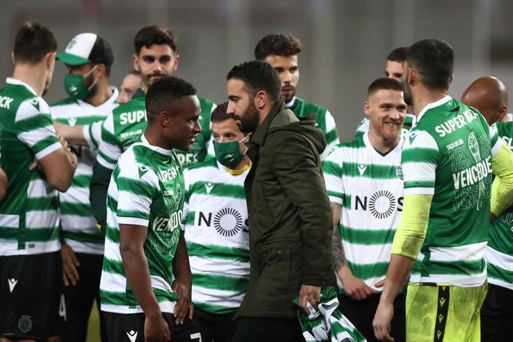 Rúben Amorim conquistou a segunda Taça da Liga como treinador