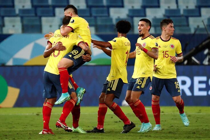 Colômbia entrou na Copa América a ganhar