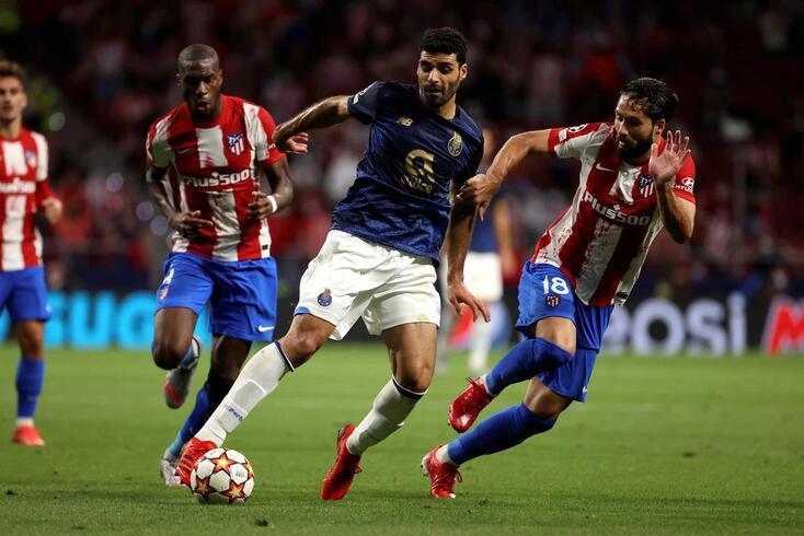 FC Porto empatou (0-0) em Madrid