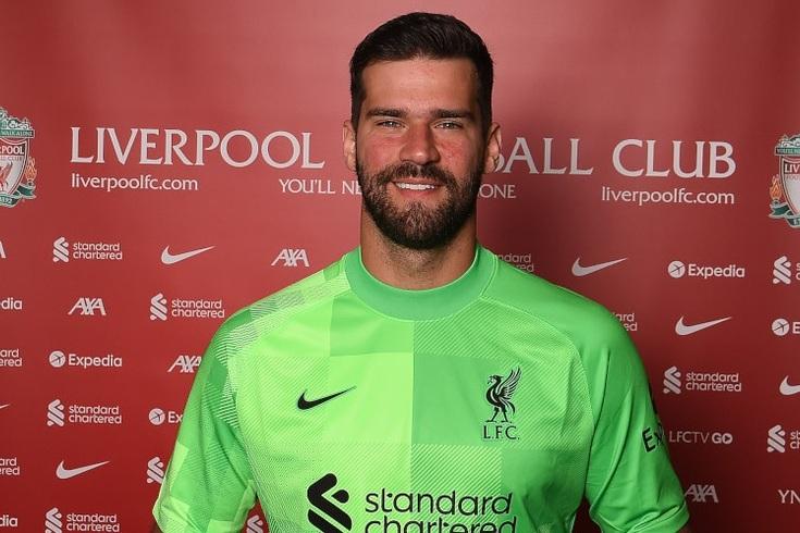 Alisson, guarda-redes do Liverpool