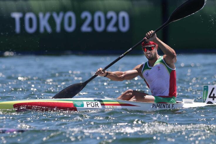 Fernando Pimenta conquistou medalha de bronze em Tóquio'2020