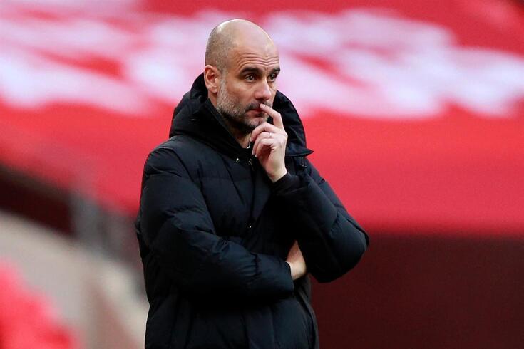 Pepe Guardiola, treinador do Manchester City