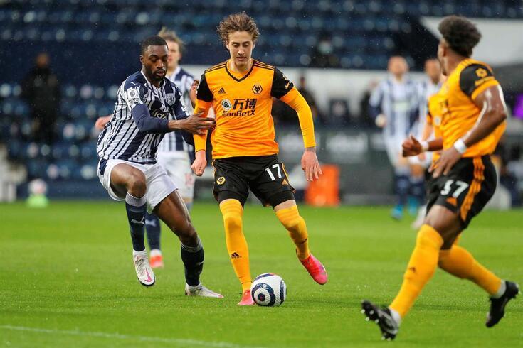 Fábio Silva marcou no empate do Wolverhampton