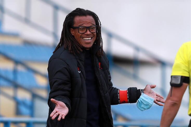 Edgar Davids, treinador do Olhanense