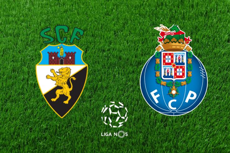 DIRETO   Farense-FC Porto