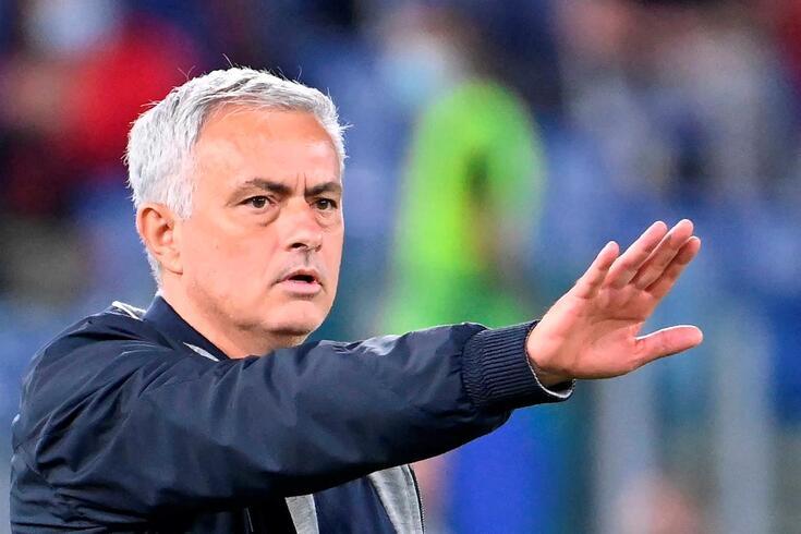 José Mourinho, treinador da Roma