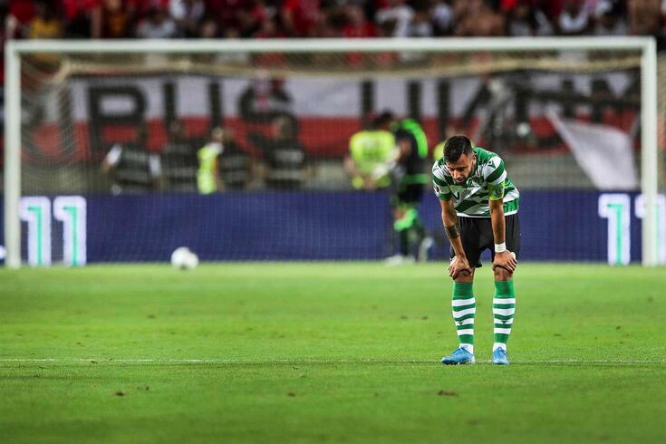 Bruno Fernandes viu a porta da Premier League fechar-se