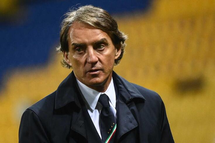 Roberto Mancini, selecionador de Itália