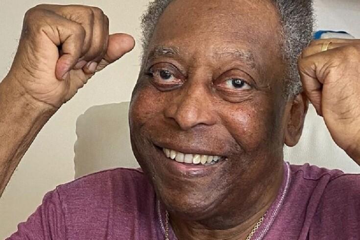 Pelé está em recuperação