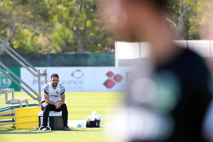 Rúben estará no banco a orientar o Sporting frente ao Vizela