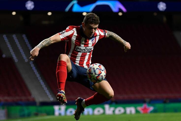 Kieran Trippier, lateral inglês do Atlético de Madrid
