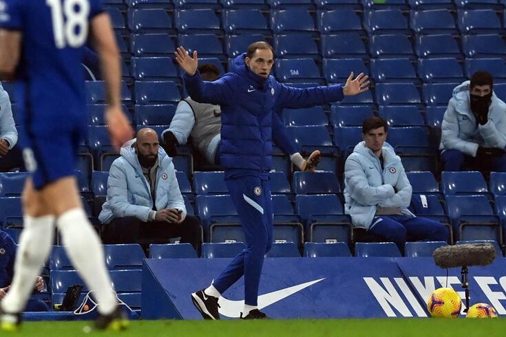 Tuchel, treinador do Chelsea