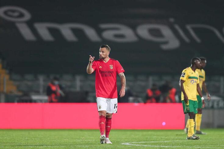 Seferovic, avançado suíço do Benfica