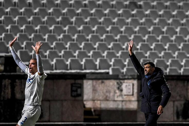 Pepe e Sérgio Conceição