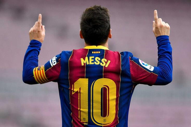 Lionel Messi, astro argentino do Barcelona