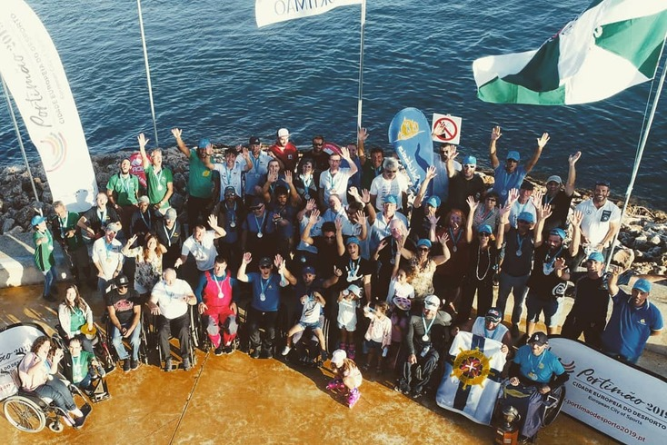 Doze países no Europeu de vela adaptada em Portimão