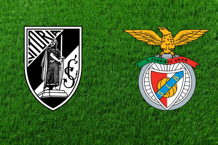 Benfica derrota Vitória em Guimarães. Recorde o jogo