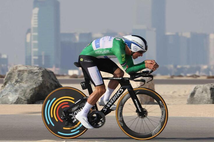 João Almeida, ciclista português na Volta aos Emirados Árabes Unidos