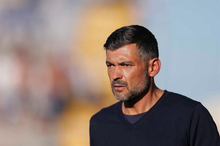 FC Porto head coach Sergio Conceicao during their Portuguese First League soccer match against Famalicao