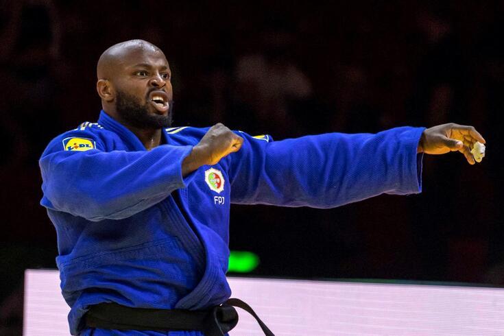 Jorge Fonseca, bicampeão do Mundo de judo