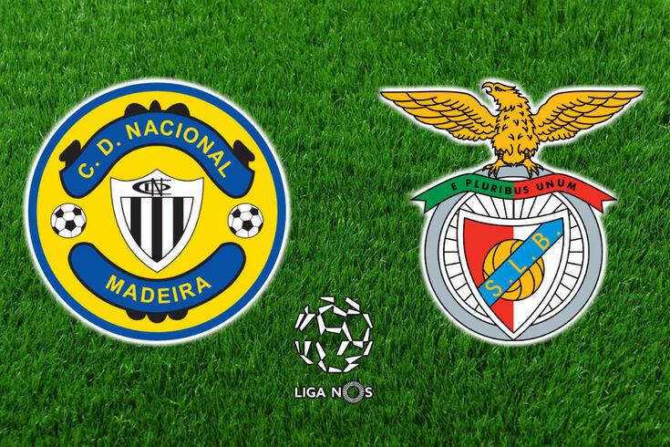 DIRETO   Nacional-Benfica