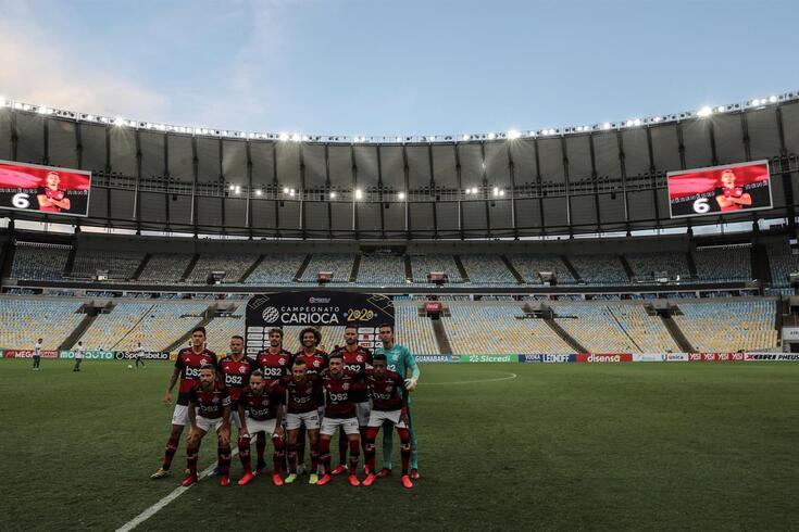 Flamengo, treinado por Jorge Jesus, é o detentor da Taça Libertadores