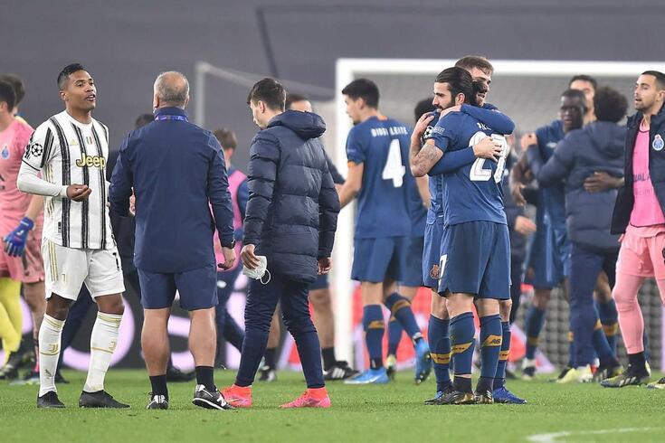 FC Porto eliminou a Juventus da Champions