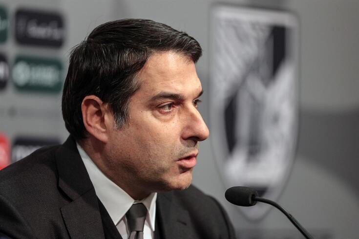 Miguel Pinto Lisboa, presidente do Vitória