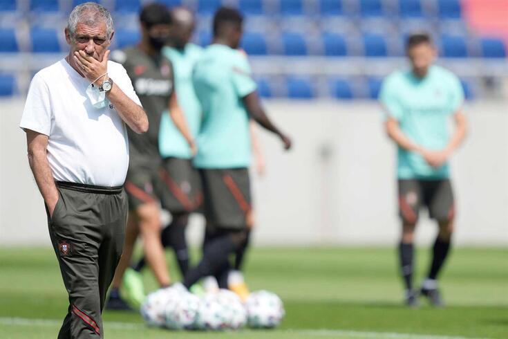 Fernando Santos fez a antevisão do primeiro jogo de Portugal no Euro'2020