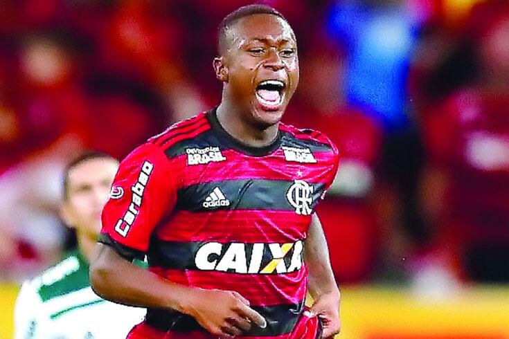 Marlos Moreno já jogou no Flamengo