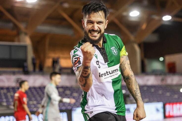 João Matos, jogador do Sporting